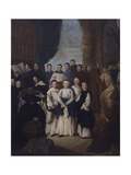 Monks, Canons and Friars of Venice and Nearby Islands, 1761 Giclee Print by Pietro Longhi