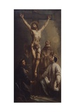 Crucifix with Three Saints Prints by Antonio Marinetti