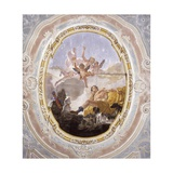 Diana and Endymion Giclee Print by Francesco Fontebasso