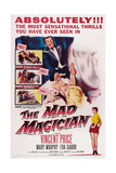 The Mad Magician, Vincent Price, Eva Gabor, Mary Murphy, 1954 Plakater