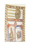 Lighting an Easter Candle, 10th C - Art Print