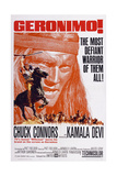 Geronimo!, Chuck Connors, 1962 Prints