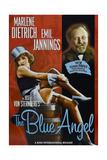 The Blue Angel, from Left: Marlene Dietrich, Emil Jannings, 1930 Poster