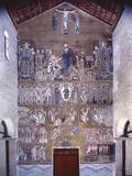 Last Judgment and Apotheosis of Christ, 11th C. Mosaic Foto