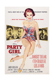 Party Girl, from Left: Robert Taylor, Lee J. Cobb, Cyd Charisse, 1958 Posters