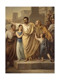 The Departure of Attilius Regulus for Carthage, 1826 Prints by Sigismondo Nappi