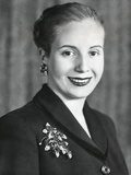 Eva Duarte De Peron, Wife of Argentine President Juan Domingo Peron Photo