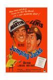 Jumping Jacks, Dean Martin, Jerry Lewis, Mona Freeman, 1952 Print