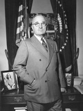 President Harry Truman at the White House Office, April 5, 1946 Prints
