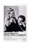 Scenes from a Marriage, Liv Ullmann, Erland Josephson, 1973 Poster