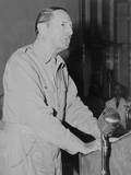 Macarthur Addresses Philippine Congress on July 9, 1945 Photo