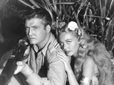Jungle Goddess, from Left: George Reeves, Wanda Mckay, 1948 Posters