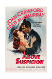 Above Suspicion, from Left, Joan Crawford, Fred Macmurray, 1943 Prints