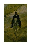 Soldier on Horseback Prints by Giovanni Fattori