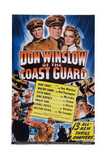 Don Winslow of the Coast Guard, Top from Left: Walter Sande, Don Terry, Elyse Knox, 1943 Prints