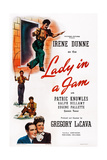 Lady in a Jam, Top to Bottom: Irene Dunne; Bottom Left: Patric Knowles, 1942 Prints