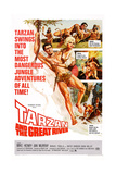 Tarzan and the Great River, Mike Henry, Diana Millay, 1967 Poster