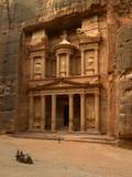 Al Khazneh or Treasury at Petra, Jordan Photo