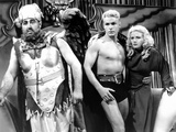 Flash Gordon, from Left: Jack Lipson, Buster Crabbe, Jean Rogers, 1936 Photo
