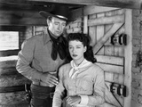 Angel and the Badman, from Left, John Wayne, Gail Russell, 1947 Photo