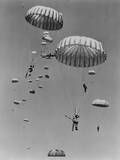Paratroopers of the U.S. 187th Regimental Combat Team During a Practice Maneuver in the Far East Photo