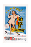 She's Back on Broadway, Virginia Mayo, 1953 Giclee Print
