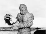The Monster of Piedras Blancas, Pete Dunn, 1959 Photo