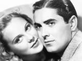 Second Fiddle, from Left: Sonja Henie, Tyrone Power, 1939 Photo