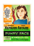 Funny Face, Audrey Hepburn, Fred Astaire, 1957 Prints