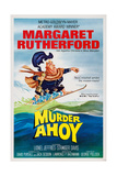 Murder Ahoy, Margaret Rutherford, 1964 Poster