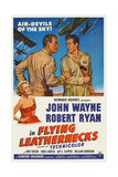 Flying Leathernecks, John Wayne, Robert Ryan, Janis Carter (Bottom Left), 1951 Posters