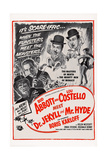 Abbott and Costello Meet Dr. Jekyll and Mr. Hyde, 1953 Plakater