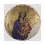 Madonna and Child, 1340-60 Prints by Guariento Di Arpo