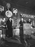 President Eisenhower Speaks to Republicans on Election Night, Nov. 8, 1960 Poster