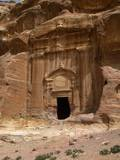 Renaissance Tomb, 129 Ad, Petra, Jordan. Combination of Nabataean and Classical Styles Prints