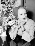 Marlene Dietrich, at the Dorchester Hotel in London, May 1955 Prints