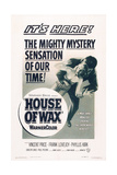 House of Wax, 1953 Art