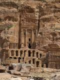 The Urn Tomb, 70 A.D., Petra, Jordan, Combines Nabataean and Classical Styles Photo