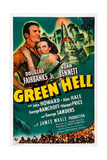 Green Hell, L-R: Douglas Fairbanks, Jr., Joan Bennett, 1940 Prints