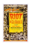 Riot in Cell Block 11, Neville Brand, (Bottom Right), 1954 Prints