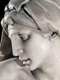 Face of Dawn, Grave of Giuliano De' Medici Poster by  Michelangelo Buonarroti