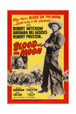 Blood on the Moon, from Left: Barbara Bel Geddes, Robert Mitchum, 1948 Art