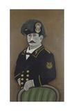 Self-Portrait of Painter in Uniform Posters av Orneore Metelli