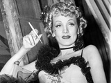 Destry Rides Again, Marlene Dietrich, On-Set, 1939 Photo