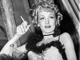 Destry Rides Again, Marlene Dietrich, On-Set, 1939 Photo
