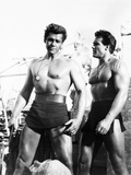 Duel of the Titans, (Aka Romolo E Remo), from Left: Gordon Scott, Steve Reeves, 1961 Foto