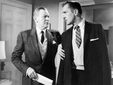 The Fly, from Left, Herbert Marshall, Vincent Price, 1958 Photo