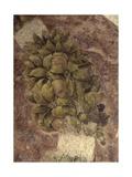 Detail of Fruits and Leaves, from the Last Supper Posters av Leonardo da Vinci