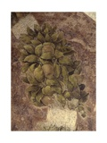Detail of Fruits and Leaves, from the Last Supper Prints by Leonardo da Vinci