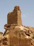 Crusader Watchtower, Petra, Jordan, 1116-1189 Poster